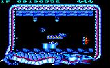 Saint Dragon Amstrad CPC Enemies can be mounted on the ceiling as well