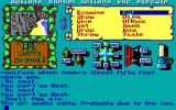 Legend of the Sword DOS Interesting choices