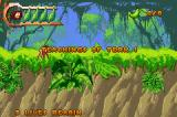 Disney's Tarzan: Return to the Jungle Game Boy Advance Starting the first level