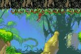 Disney's Tarzan: Return to the Jungle Game Boy Advance Climbing vines