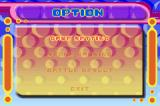 Super Bust-A-Move Game Boy Advance Options Screen