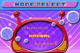 Super Bust-A-Move Game Boy Advance Mode Selection for 1 Player