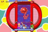 Super Bust-A-Move Game Boy Advance If you succeed in hitting a giant bubble, all other bubbles will turn into the same color