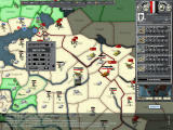 Hearts of Iron Windows German east front, airplane orders, and the weather map.