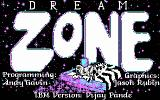 Dream Zone DOS Title screen (CGA)