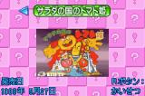 Hudson Best Collection Vol. 4: Nazotoki Collection Game Boy Advance Selection Screen: Princess Tomato in the Salad Kingdom