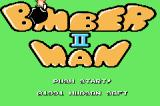 Hudson Best Collection Vol. 1: Bomberman Collection Game Boy Advance Bomberman II: Start Screen
