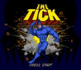 The Tick SNES Title screen.