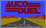 Autoduel DOS Title screen