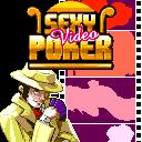 Sexy Video Poker ExEn Game splashscreen. You will be a private investigator trying to solve a robbery. The jewels of an old lady were stolen.