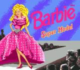 Barbie Super Model Genesis Title screen