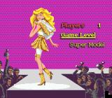 Barbie Super Model Genesis Main menu