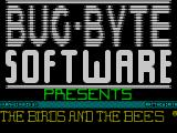 The Birds and the Bees ZX Spectrum Loading screen