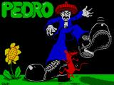 Pedro ZX Spectrum Loading screen