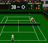Pete Sampras Tennis Game Gear Bosch serve!