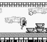 Barbie Game Girl  Game Boy Stage 3: restaurant: Barbie doges sugar cubes which are jumping out of teacups.