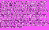 Alien Fires: 2199 AD DOS Further introduction, now on a hot pink background! (CGA)