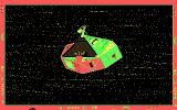 Alien Fires: 2199 AD DOS Your ship takes you there. (CGA)