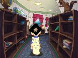 Leisure Suit Larry: Love for Sail! Windows In the library