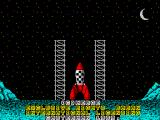 Tintin on the Moon ZX Spectrum Intro animation