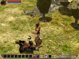 Titan Quest Windows Your first enemy, laying at your feet.