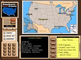 Where in the USA is Carmen Sandiego? (Deluxe Edition) DOS Travel Map