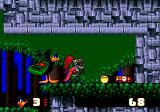 Daffy Duck in Hollywood Genesis When Daffy gets bored he usually turns the player off.