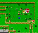 Claymates SNES Once you finish the level, you must guide the robots to chop down the trees for you