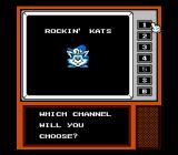 Rockin' Kats NES Select your Channel