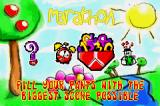 It's Mr Pants Game Boy Advance Main menu - select your game mode, or check out other options