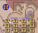 Mario's Super Picross SNES Level one: Selecting the first problem