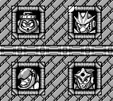 Mega Man III Game Boy Choose an opponent