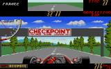 Super Monaco GP Atari ST Reached a checkpoint