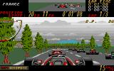 Super Monaco GP Atari ST On the grid