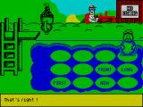 Fun School 4: For 5 to 7 Year Olds ZX Spectrum Diving in