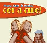 Mary-Kate & Ashley: Get a Clue! Game Boy Color Title screen