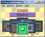 Bomberman Tournament Game Boy Advance ...then the playing field...