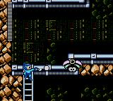 Mega Man Game Gear Mega Man can also shoot while on a ladder