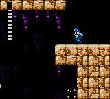 Mega Man Game Gear The orb underneath Mega Man is a large health refill