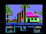 Flimbo's Quest Amstrad CPC Who lives in this half-house?