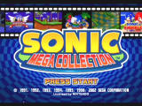 Sonic Mega Collection GameCube Title Screen