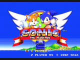 Sonic Mega Collection GameCube Sonic the Hedgehog 2 - Title Screen