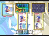 Sonic Mega Collection GameCube This version of Sonic allows players to save if they choose