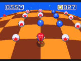 Sonic Mega Collection GameCube The special stage here takes place on a gigantic sphere, grab the blue spheres