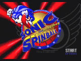Sonic Mega Collection GameCube Sonic the Hedgehog Spinball - Title Screen