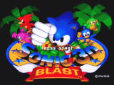 Sonic Mega Collection GameCube Sonic 3D Blast - Title Screen
