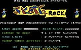 Awesome Earl in SkateRock Commodore 64 Title screen