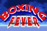 Boxing Fever Game Boy Advance Title screen