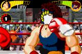 Boxing Fever Game Boy Advance The hammer takes it on the chin.