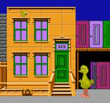 Big Bird's Hide and Speak NES A memorization mode.  Can you remember what is behind each window?